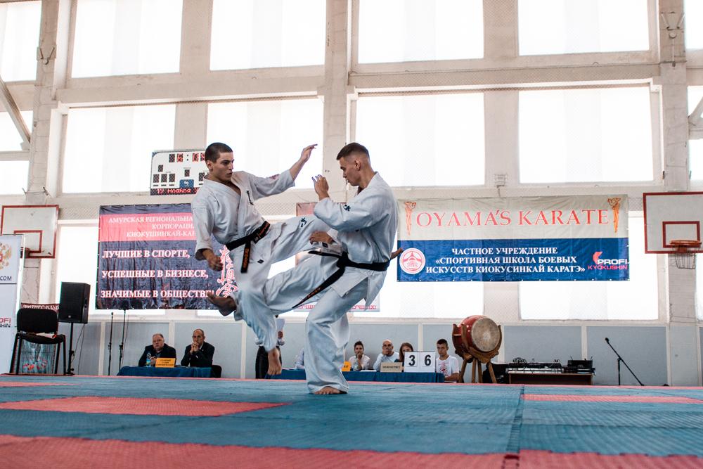 турнир по Киокусинкай каратэ