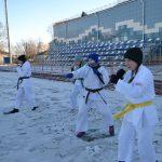 Зимняя школа отделения Киокушин Профи Амурской области
